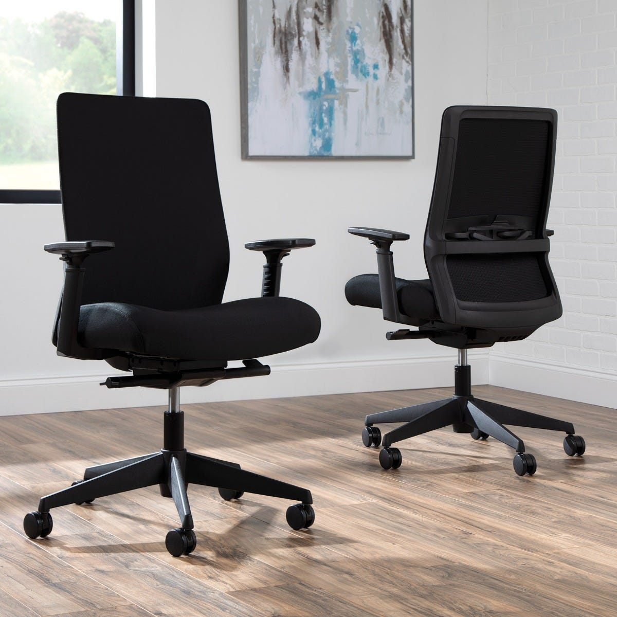 Biometryx Task Chair, Black