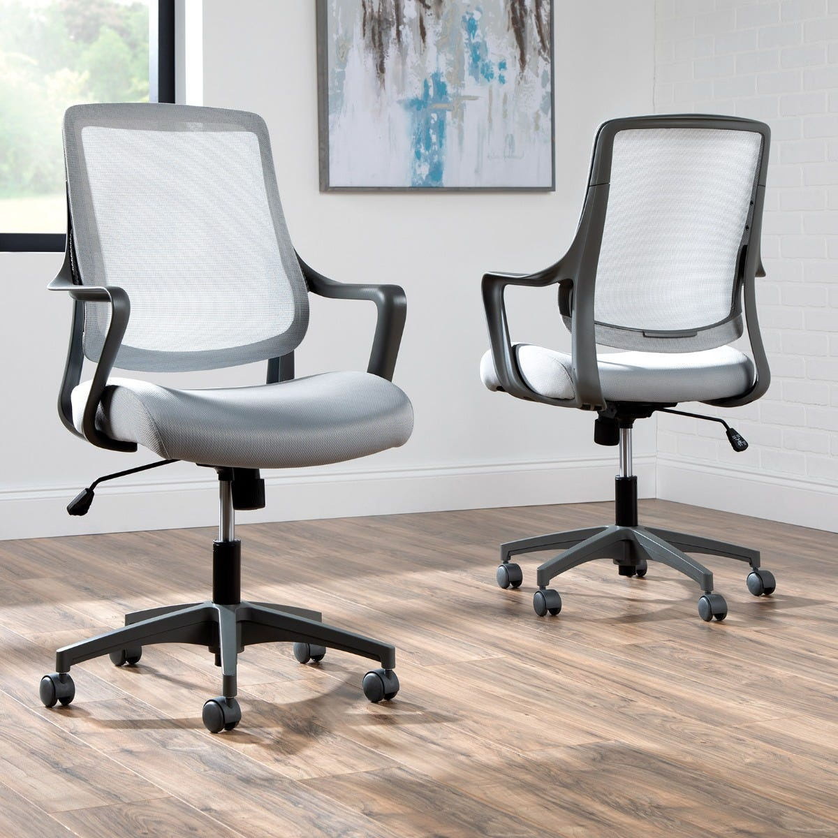 Helium Light Task Chair, Platinum Grey