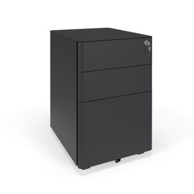 Modern Mobile Metal Box/Box/File Drawer Pedestal   from HonBasyx