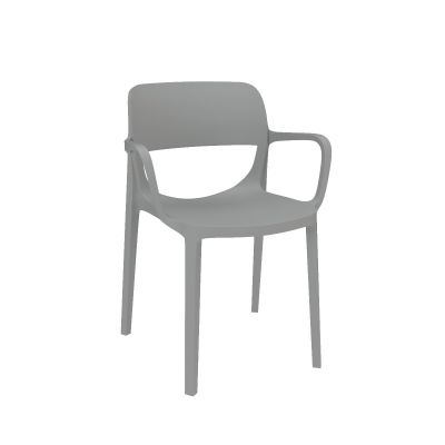Prodigy Cafe Stack Chair, with Arms, Set of 2